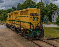 Conway Scenic Railroad, Conway del nord Fotografie Stock Libere da Diritti