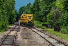 Conway Scenic Railroad, Conway del norte Foto de archivo libre de regalías