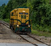 Conway Scenic Railroad, Nord-Conway lizenzfreies stockfoto