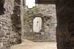 Conwy城堡,北部威尔士,英国 免版税库存照片