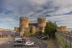 Conwy城堡 库存图片