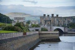 conwy的城堡 库存照片