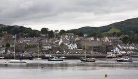 Conwy, вэльс Стоковые Фотографии RF