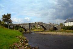 conwy река Стоковое Изображение