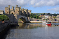 Conwy stock photo