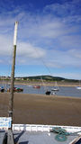 Conwy bay view Royalty Free Stock Image