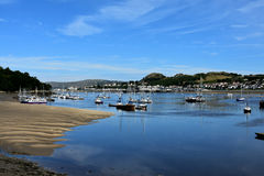 Conwy beach Royalty Free Stock Photos