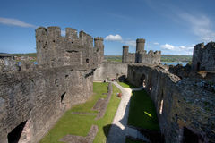Conwy Castle Royalty Free Stock Photo