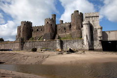 Conwy Castle Royalty Free Stock Image