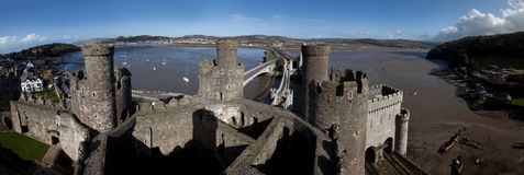 Conwy castle Stock Photos