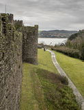 The Conwy castle Royalty Free Stock Images