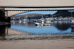 Conwy Castle bridge Royalty Free Stock Photography