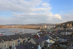 Conwy Castle Royalty Free Stock Images
