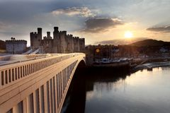 Conwy Castle Stock Photography