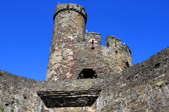 Conwy Castle, Wales Stock Image