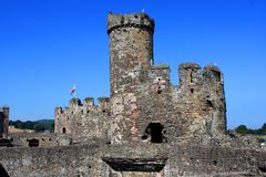 Conwy Castle, Wales Stock Photos