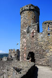 Conwy Castle, Wales Royalty Free Stock Photo