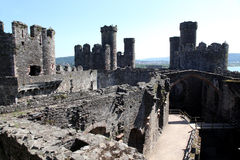 Conwy Castle, Wales Stock Photos