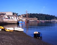 Conwy harbour. Royalty Free Stock Photography