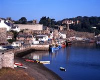 Conwy harbour. Royalty Free Stock Images