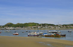 Conwy Harbour in North Wales Royalty Free Stock Photography