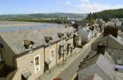 Conwy medieval town Royalty Free Stock Photography