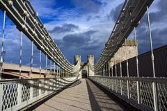 Conwy North Wales Royalty Free Stock Images