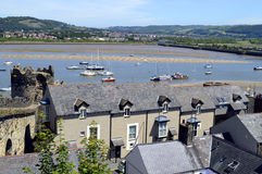 Conwy in North Wales, UK Royalty Free Stock Photography