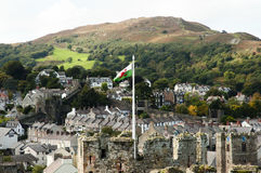 Conwy - País de Gales - Reino Unido fotos de archivo
