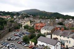 Conwy Pays de Galles du nord Images stock