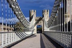 Conwy Pays de Galles du nord image libre de droits