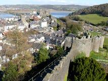 Conwy, Pays de Galles, R-U Photos libres de droits
