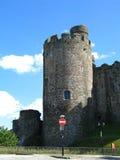 Conwy slott Arkivfoton