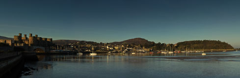 Conwy Town Royalty Free Stock Image