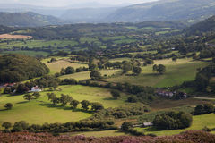 Conwy Valley Royalty Free Stock Images