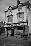 CONWY/WALES - April 20, 2014: Old-style rural general merchandis Royalty Free Stock Images