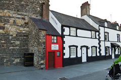 CONWY/WALES - April 14, 2014: The Royalty Free Stock Photo