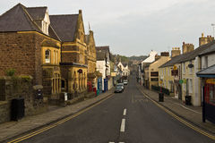 CONWY/WALES - April 20, 2014: Typical street scene in idyllic Stock Image