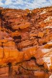 Conyon цвета в пустыне Синая, Египте Стоковое Фото