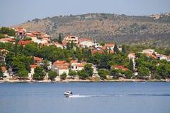 Cooast de la Croatie Image libre de droits