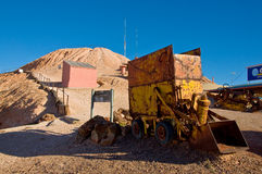 Coober pedy royalty free stock image