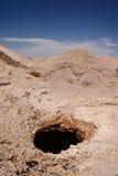 Coober Pedy - exploitation opale photo libre de droits