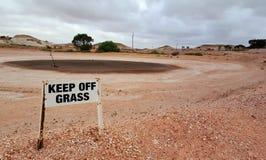 Coober Pedy Golf Course Fotografía de archivo
