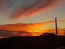 COOBER PEDY słońca Południowego Australia kolorów figlarka fotografia stock