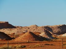 Coober Pedy in South Australia Royalty Free Stock Photo