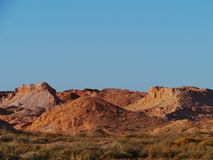 Coober Pedy in South Australia Stock Images