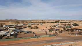 Coober Pedy. The world's largest Opal colony in Australia Royalty Free Stock Photo