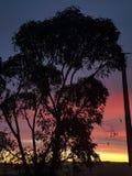Coober Pedy zmierzchu Australia colours Południowy całkowicie piękny abstrakt prawie lubi malować Obrazy Royalty Free
