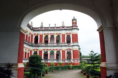 Cooch Behar Palace, auch angerufen Victor Jubilee Palace lizenzfreie stockfotos