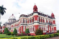 Cooch Behar Palace, ook genoemd Victor Jubilee Palace Stock Afbeelding